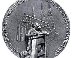 Andrzej Kołaczyński, medal dwustronny (awers), odlewany, srebro, Φ...