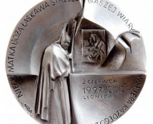 Magdalena Dobrucka, medal dwustronny (awers), lany, srebro, Φ...