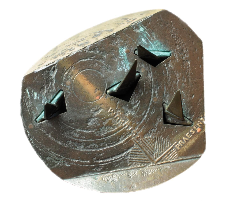 Wąsacz Józef - Z cyklu Mementa - Dobre życzenie – brąz, 14cm, 2004