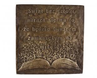 """Hanna Roszkiewicz Tokarska - """"Jan Paweł II - Z listu do artystów I""""..."""