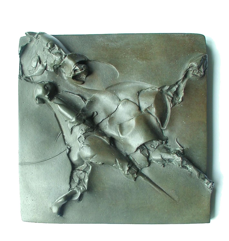 Amicus, 2010, brąz 15x15