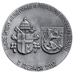 Andrzej Kołaczyński, medal dwustronny (rewers), odlewany, srebro, Φ...