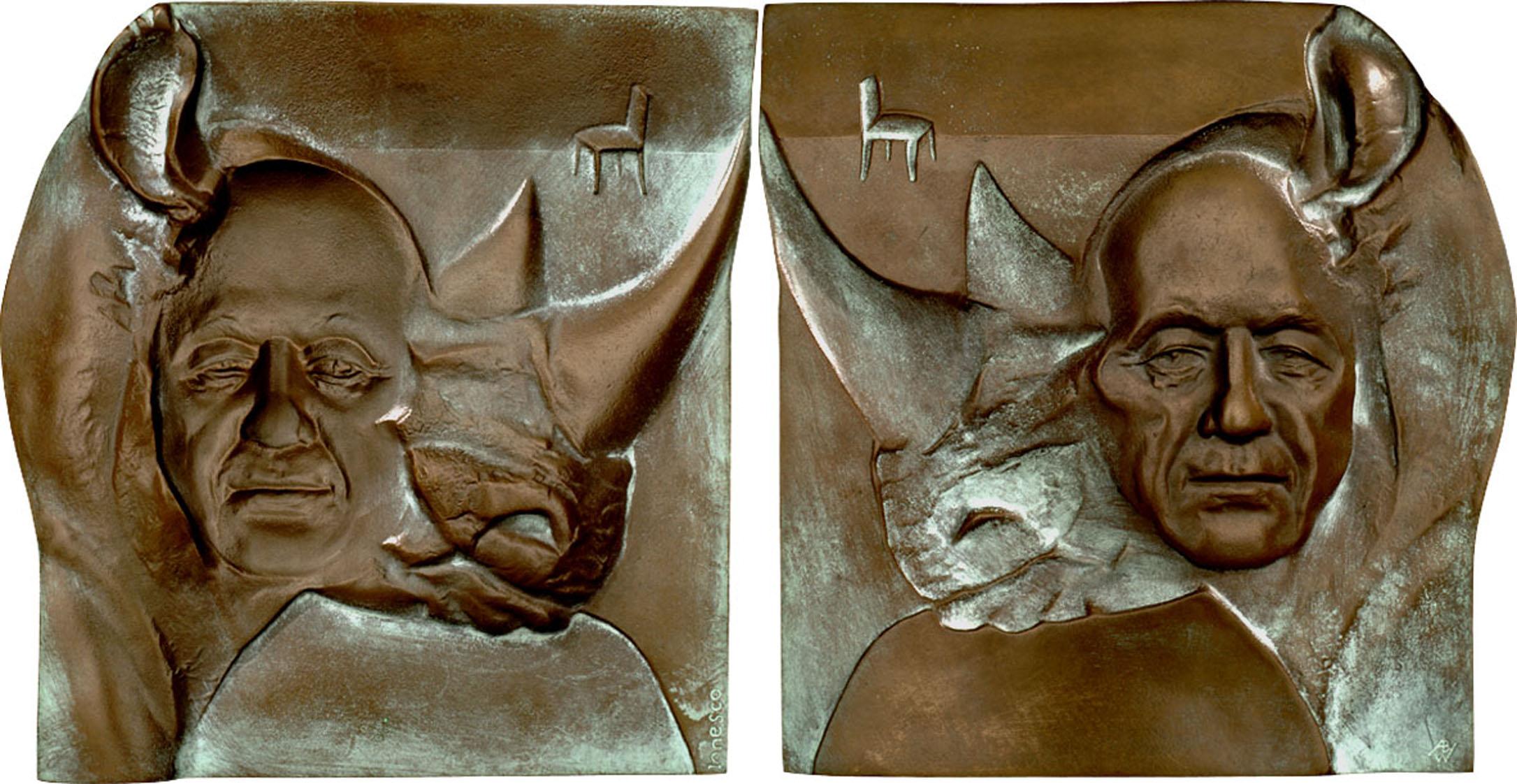 Eugene Ionesco 1998 (190x175mm)