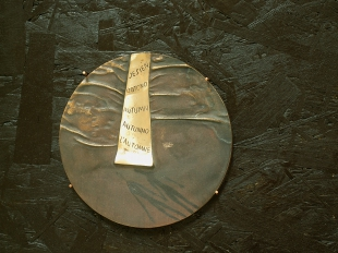 Jesień, brąz, Φ 15 cm, 2009