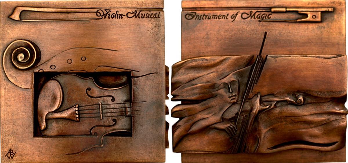 Duch Skrzypiec 2002 (110 x 110 mm)