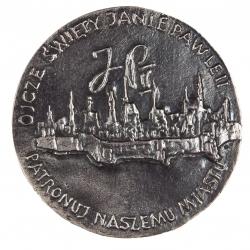 Zygmunt Brachmański, medal dwustronny (rewers), lany, srebro, Φ 85...