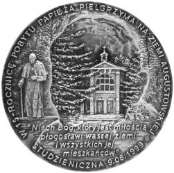 Tadeusz Tchórzewski - Święty Jan Paweł II (rewers), tombak, 6 cm, 2014