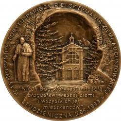 Tadeusz Tchórzewski - Święty Jan Paweł II (rewers), tombak , 6 cm,...
